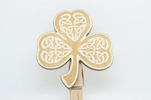Shamrock Peg by Monson Irish Jewelry
