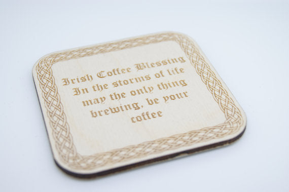 Irish Blessing Coaster by Monson Irish Jewelry