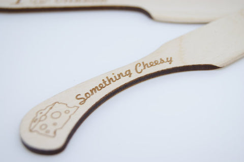 Wooden Cheese Knife by Monson Irish Jewelry