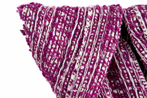 Renaissance Lace Wrap – Magenta by Liz Christy