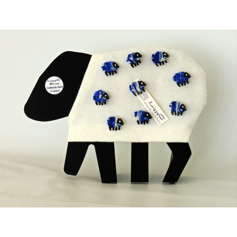 The Monaghan Sheep - Brooch by Liz Christy
