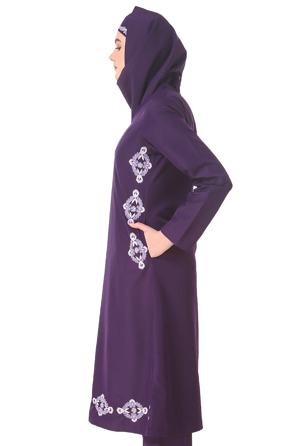 Navil Purple Tunic