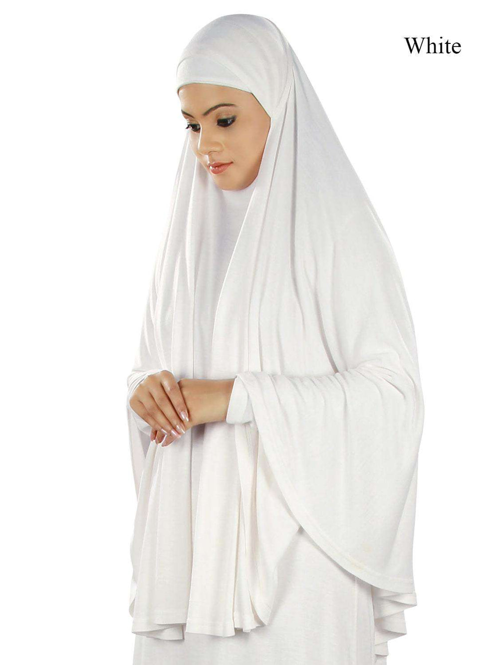 Dua Prayer Khimar - Soft Viscose Jersey