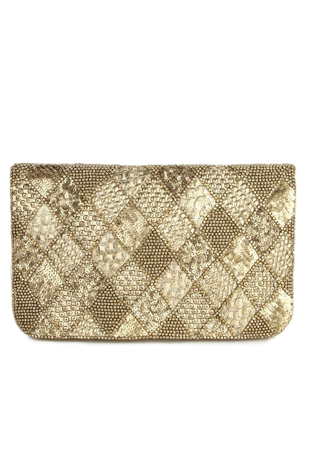 Sofia Cream Party Handbag