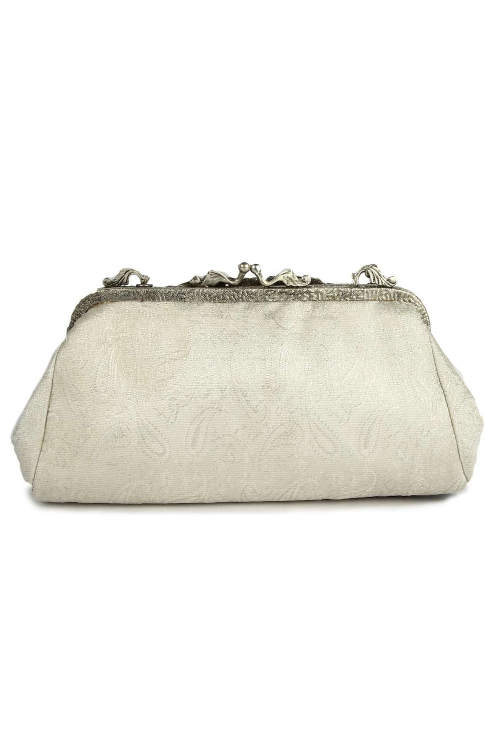 Riley White & Black Formal Evening HandBag