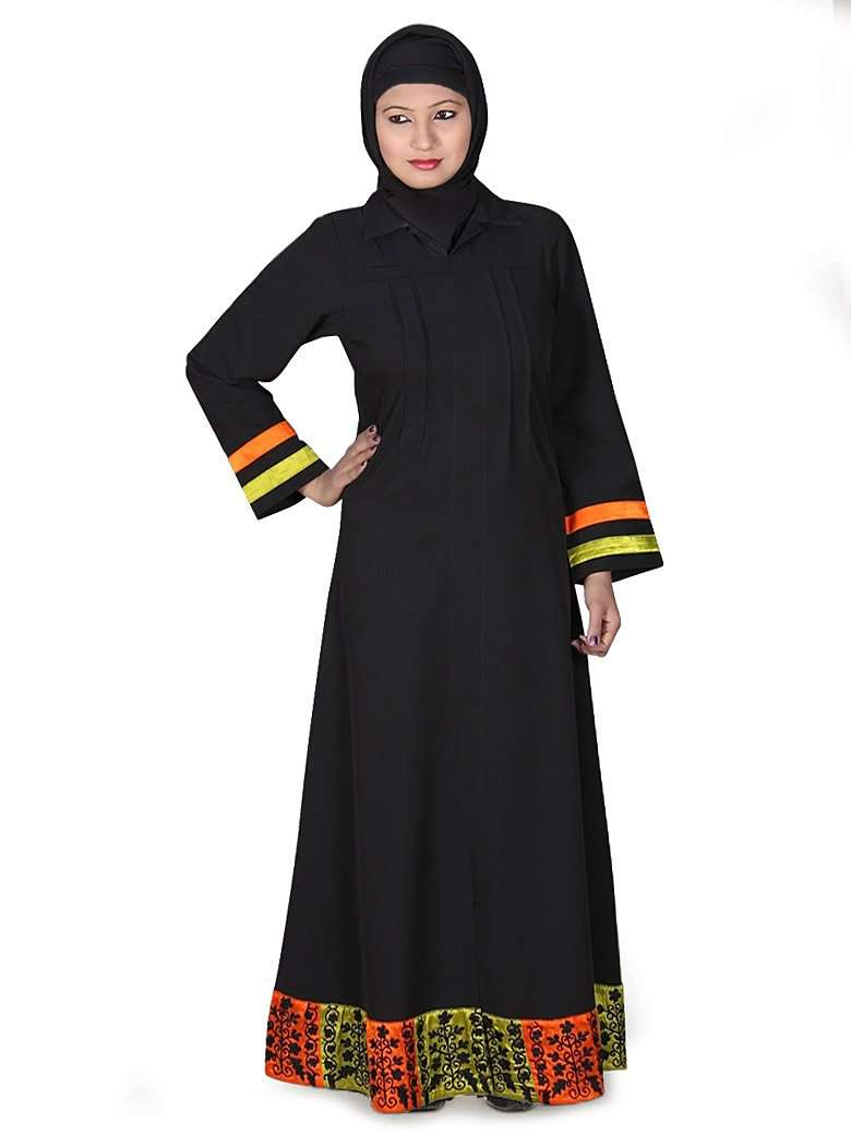 Decent Embroidered Abaya