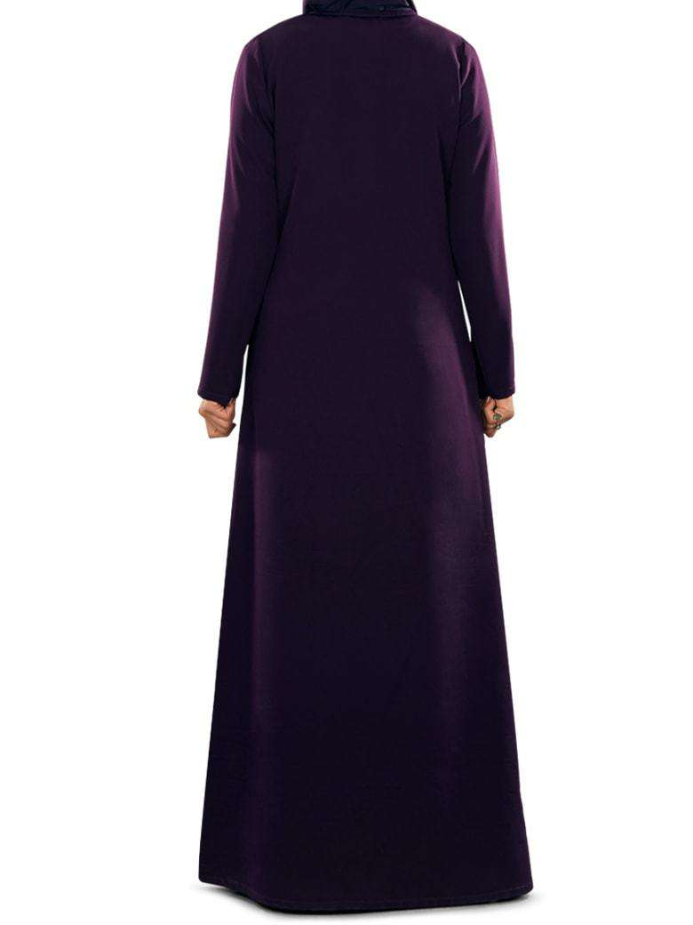 Navil Purple Abaya