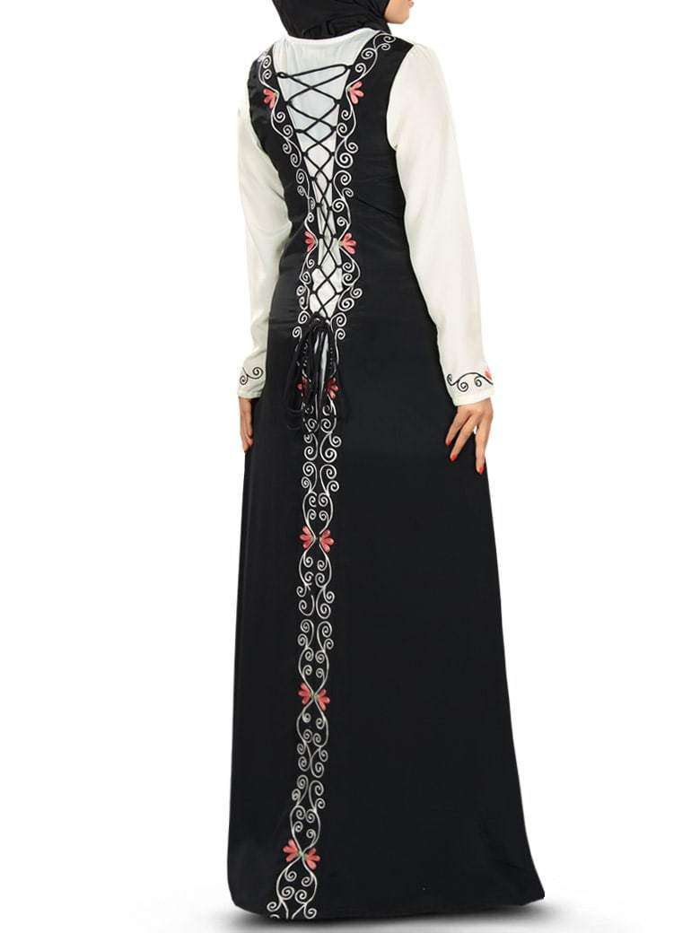 Mehreen Fancy Abaya Dress