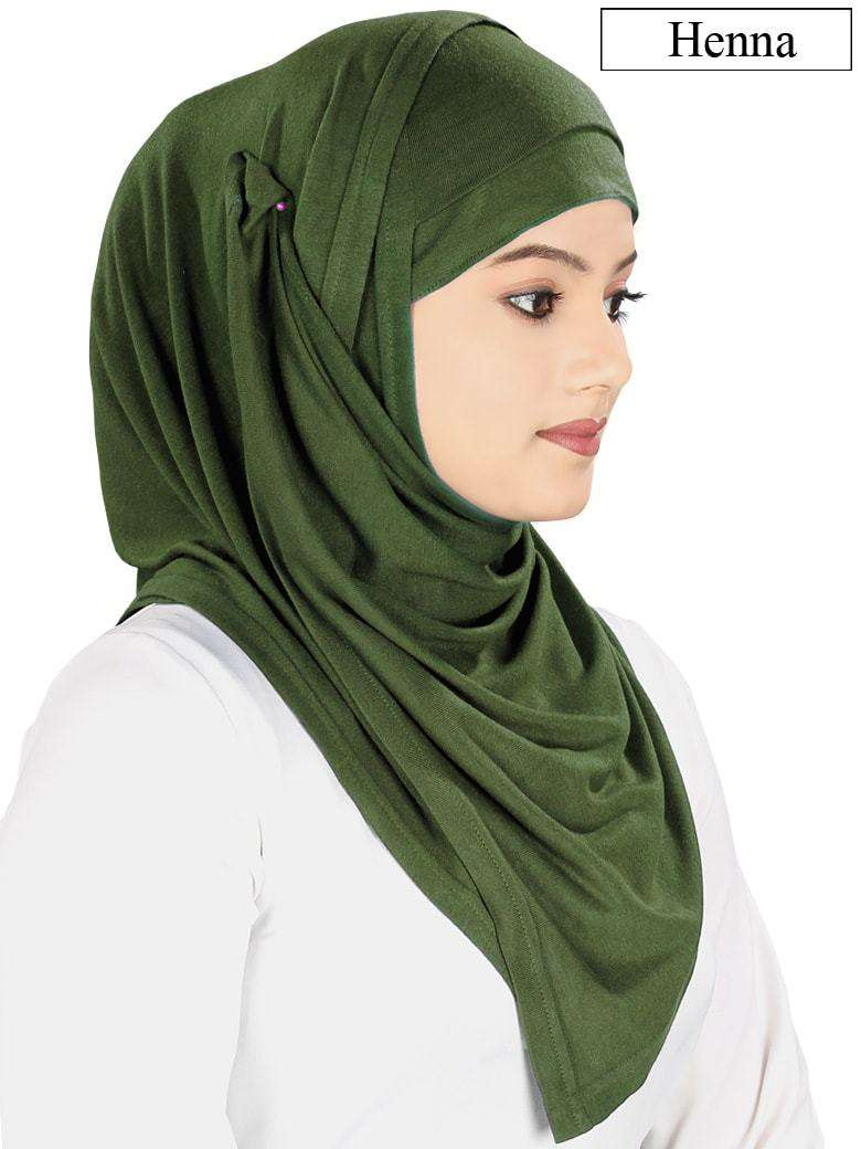 Instant Jersey Hijab and Band