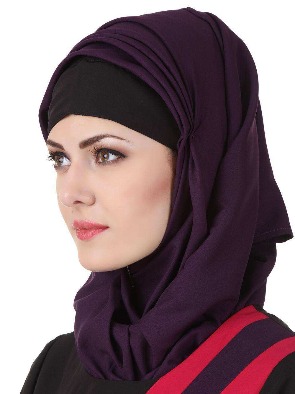 Shimah Purple Hijab