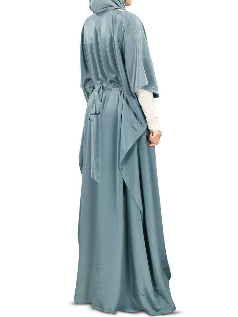 Liyana Hand Embroidered Grey Kaftan