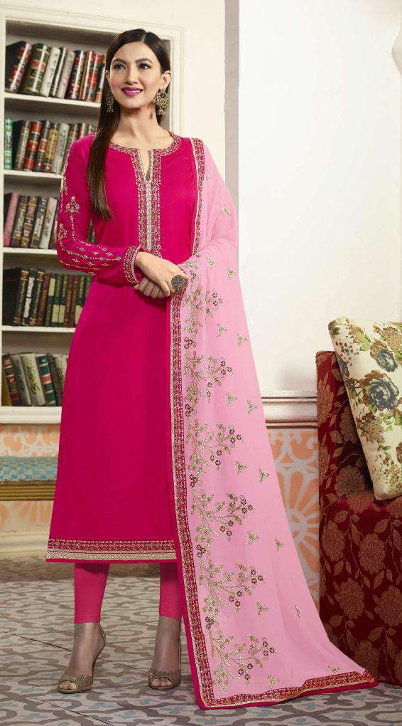 Embroidered Pink Salwar Kameez MYSK-069
