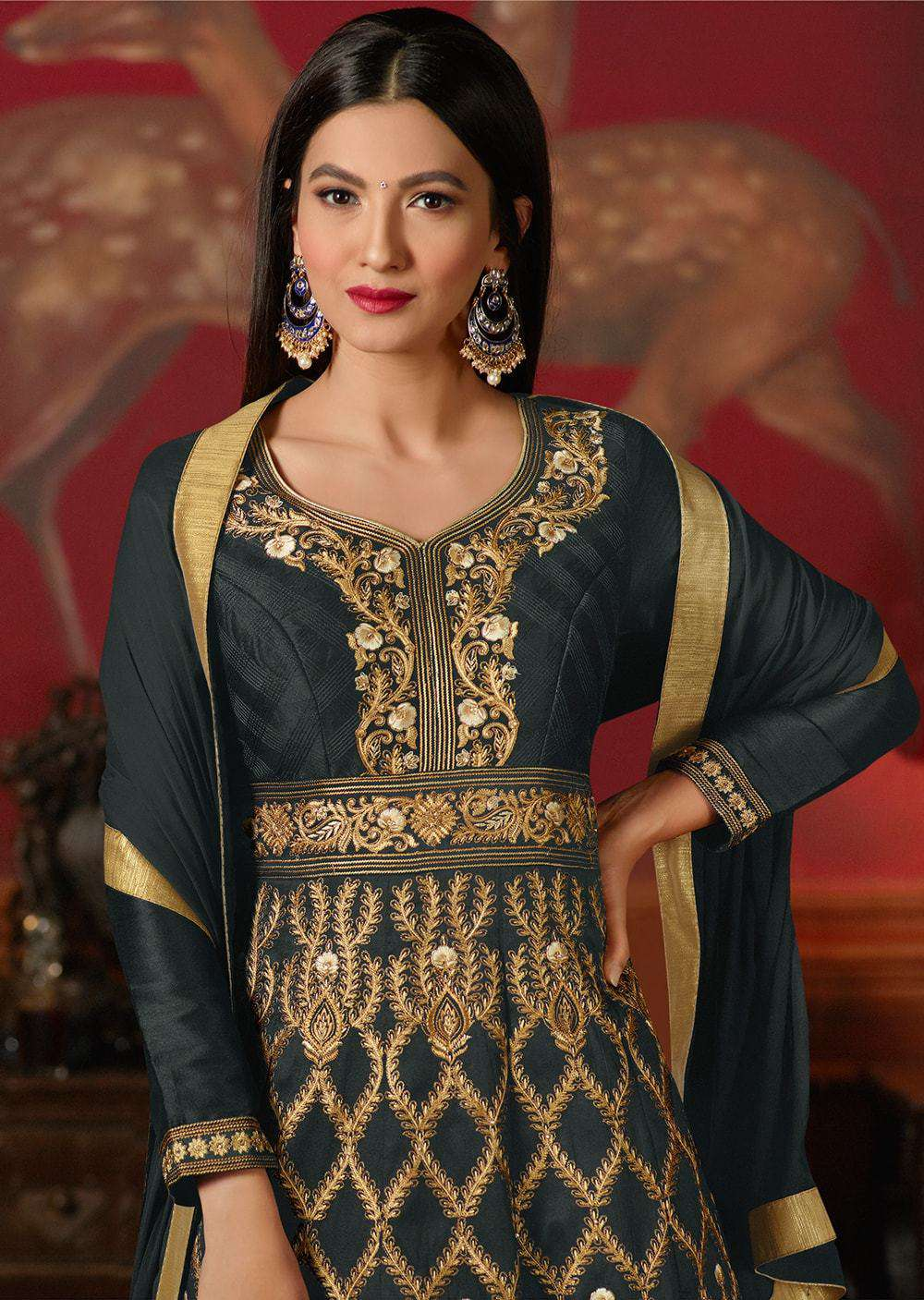 Embroidered Anarkali Salwar Kameez MYSK-154