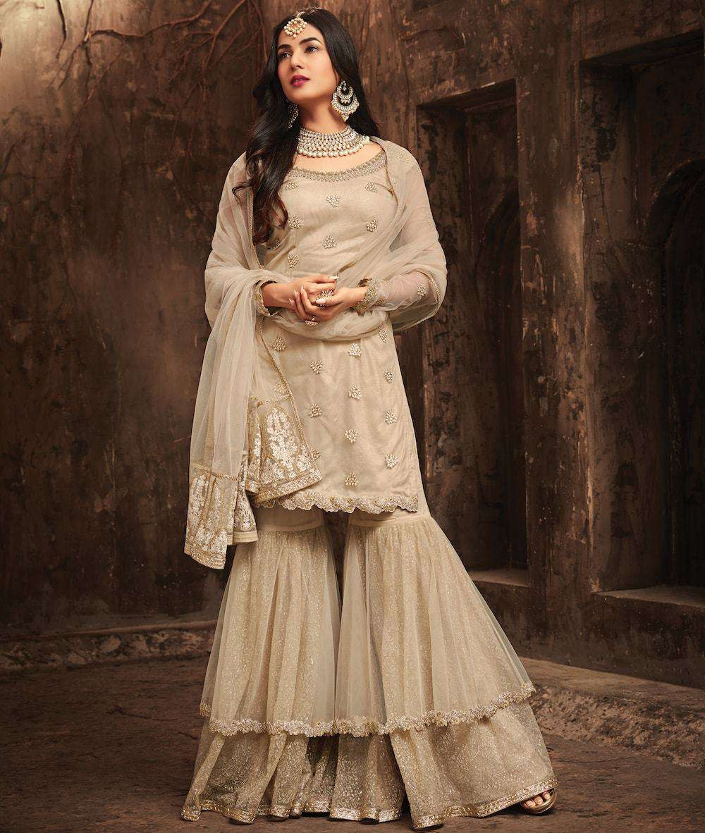 Off White Heavy Look And Beautiful Embroidered Party Wear Salwar Kameez MYSK-943
