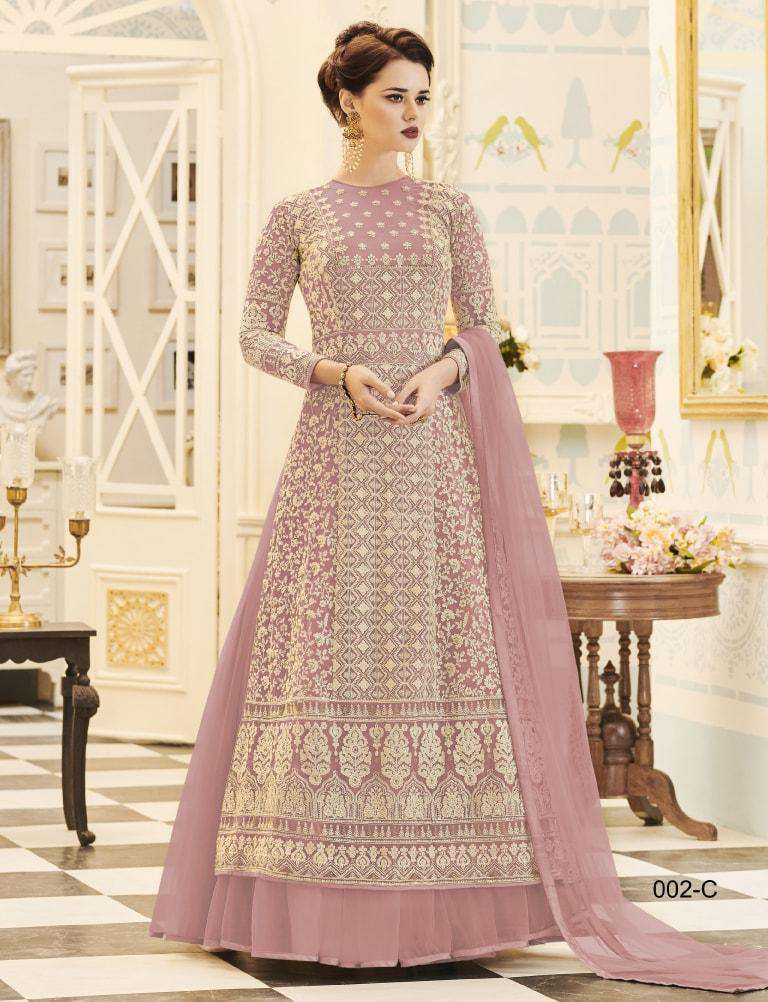 Pink Designer Dress Embroidered Salwar Kameez MYSK-964