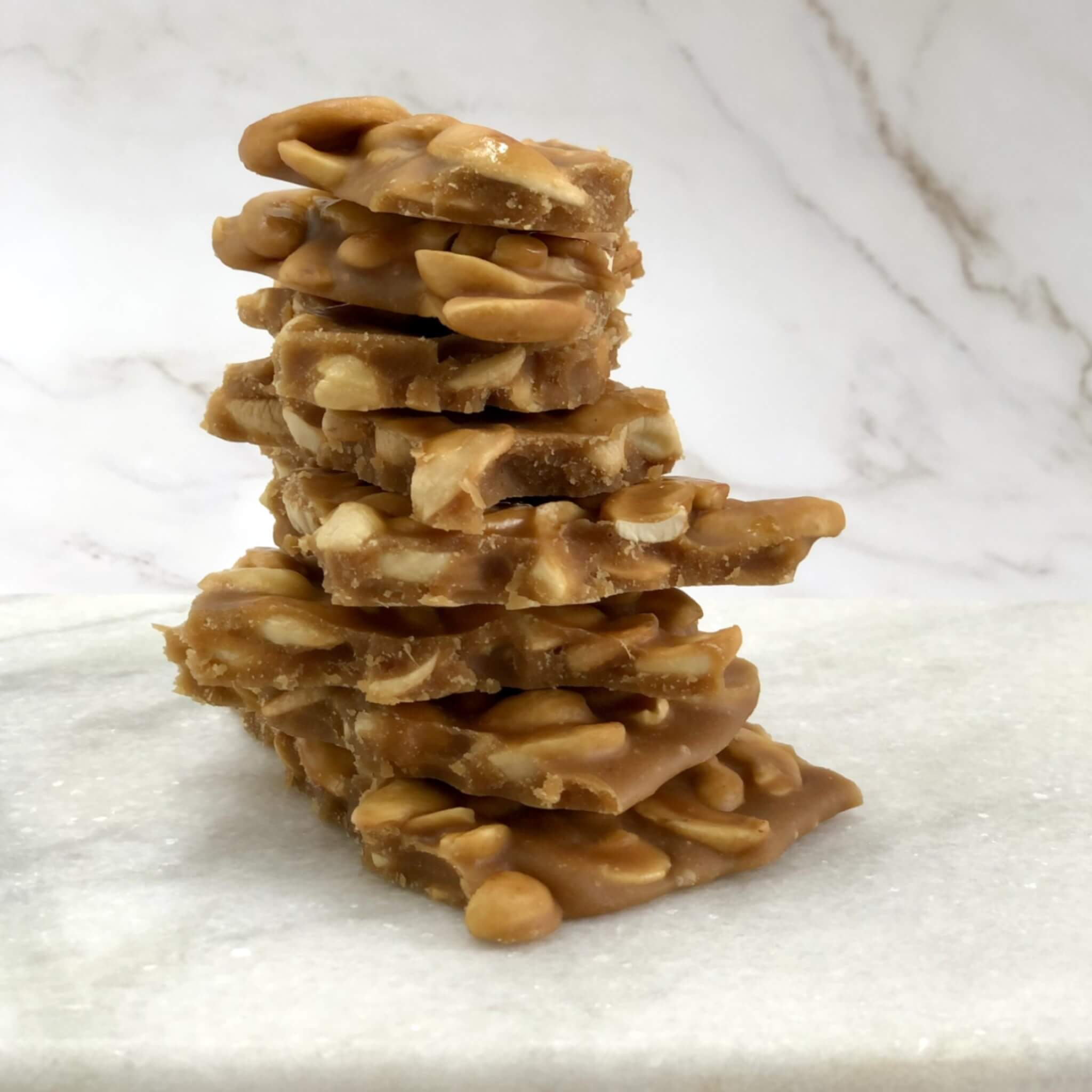 Quick Snack Cashew Ginger Brittle