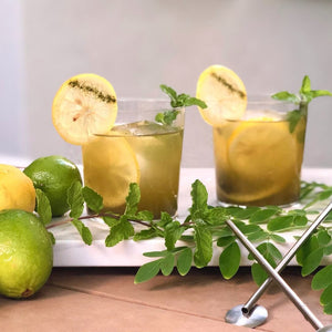 Iced Moringa Mint Lemonade