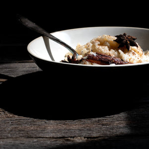 Spiced Coconut Rice Pudding