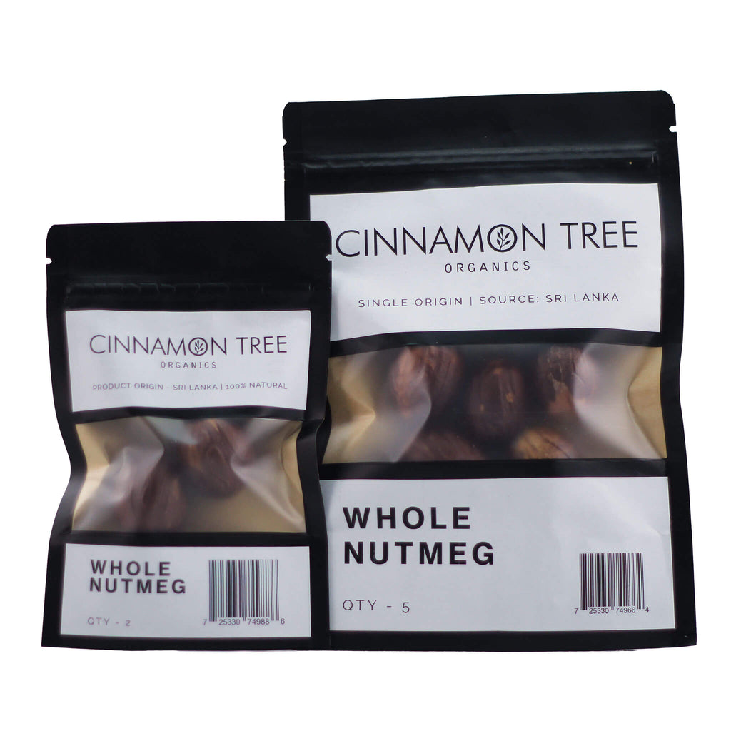 Cinnamon Tree Organics Nutmeg In Shell Packs