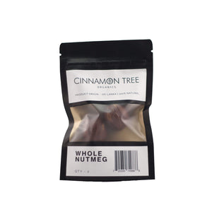 Cinnamon Tree Organics Nutmeg in Shell - Quantity 2