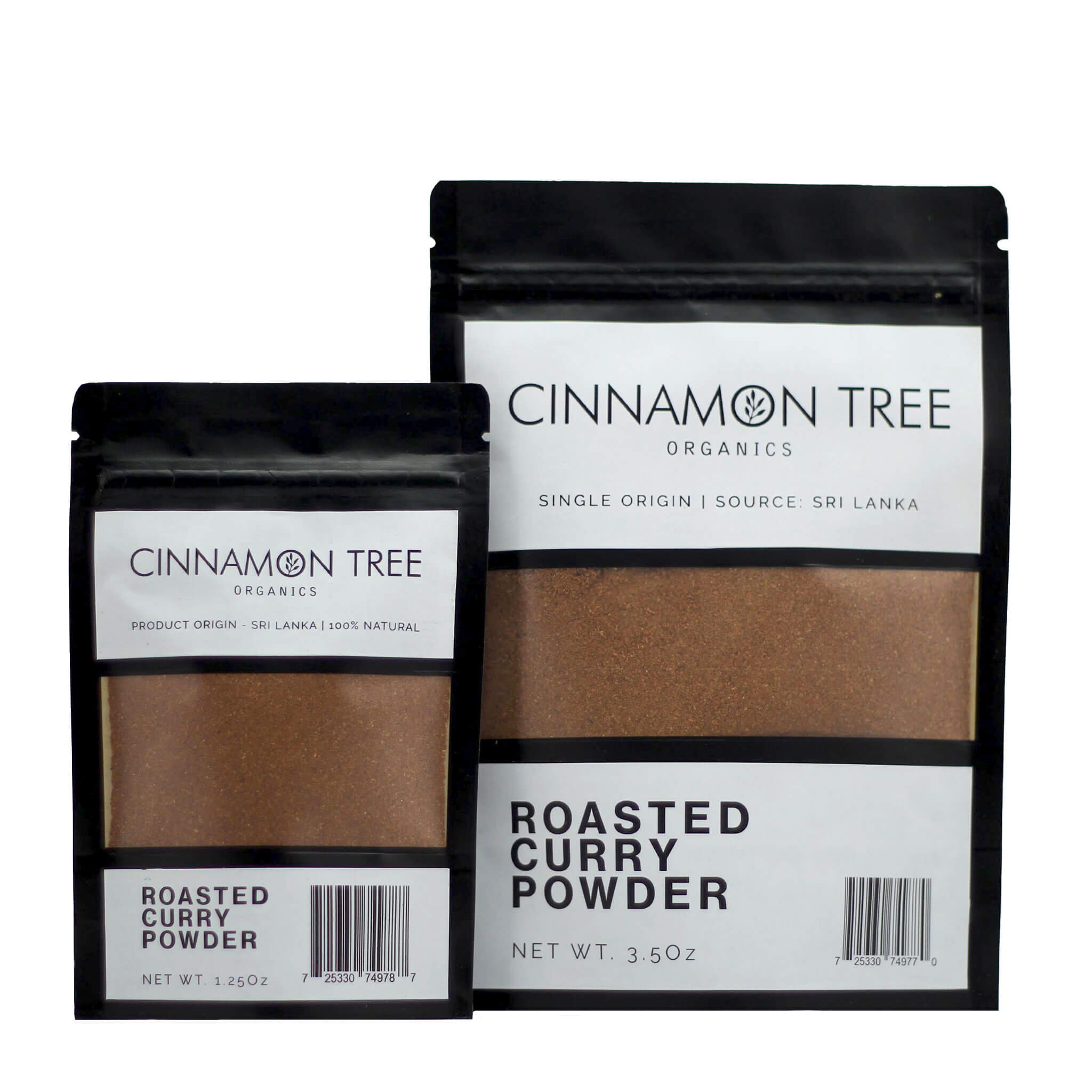 Cinnamon Tree Organics Ceylon curry powder packs