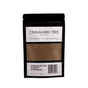 Cinnamon Tree Organics Unroasted Curry Powder 1.25 Oz pack