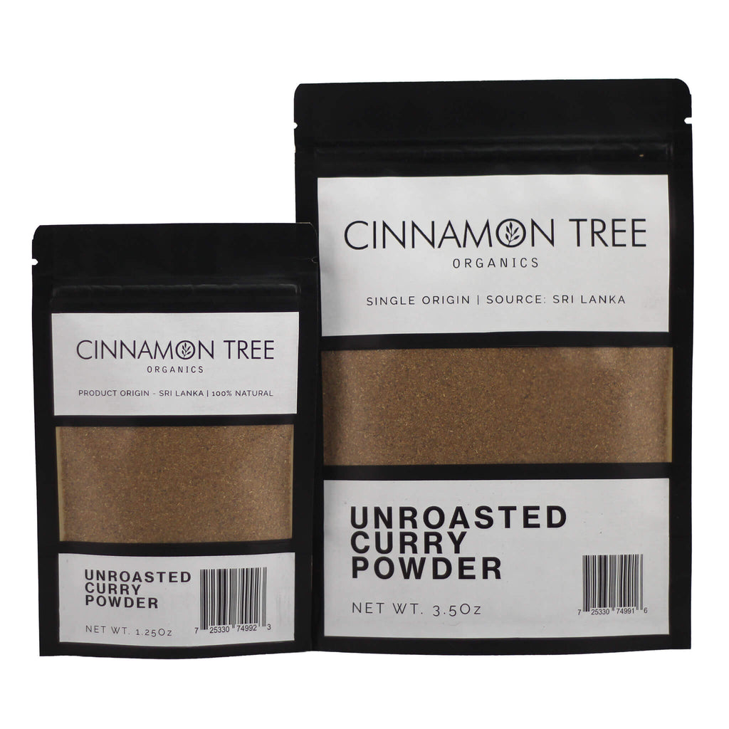 Cinnamon Tree Organics Unroasted Curry Powder Packs