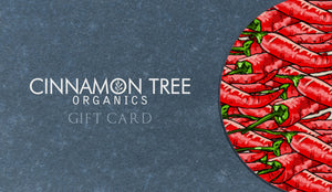 Cinnamon Tree Organics $10 Gift Card