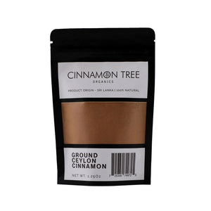 Cinnamon Tree Organics single origin ground Ceylon cinnamon  1.25Oz