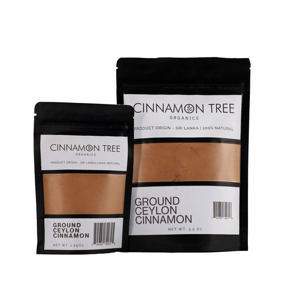 Cinnamon Tree Organics Single origin ground Ceylon cinnamon