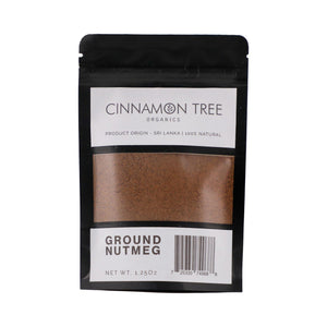 Cinnamon Tree Organics Ground Nutmeg 1.25 Oz