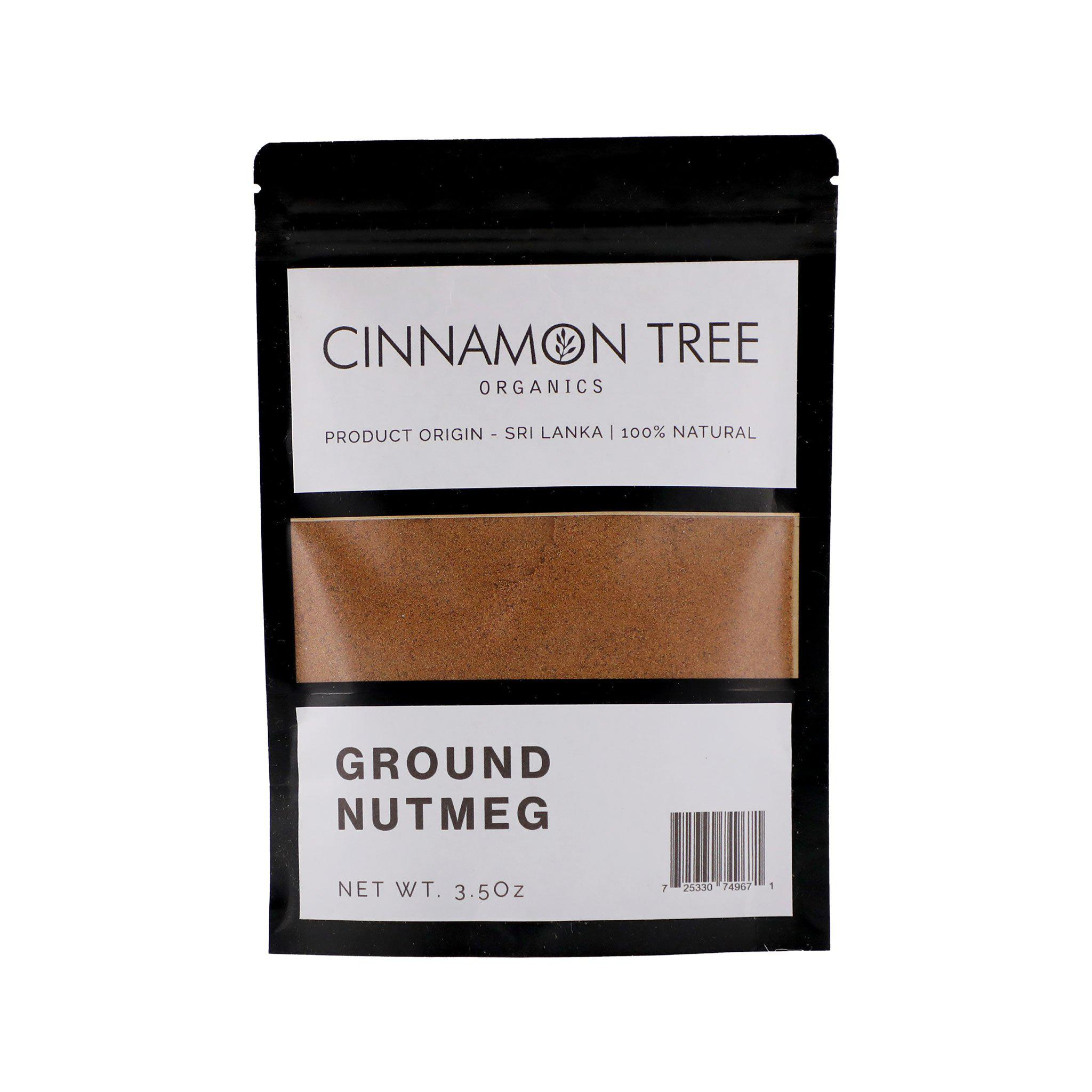Cinnamon Tree Organics Ground Nutmeg 3.5 Oz