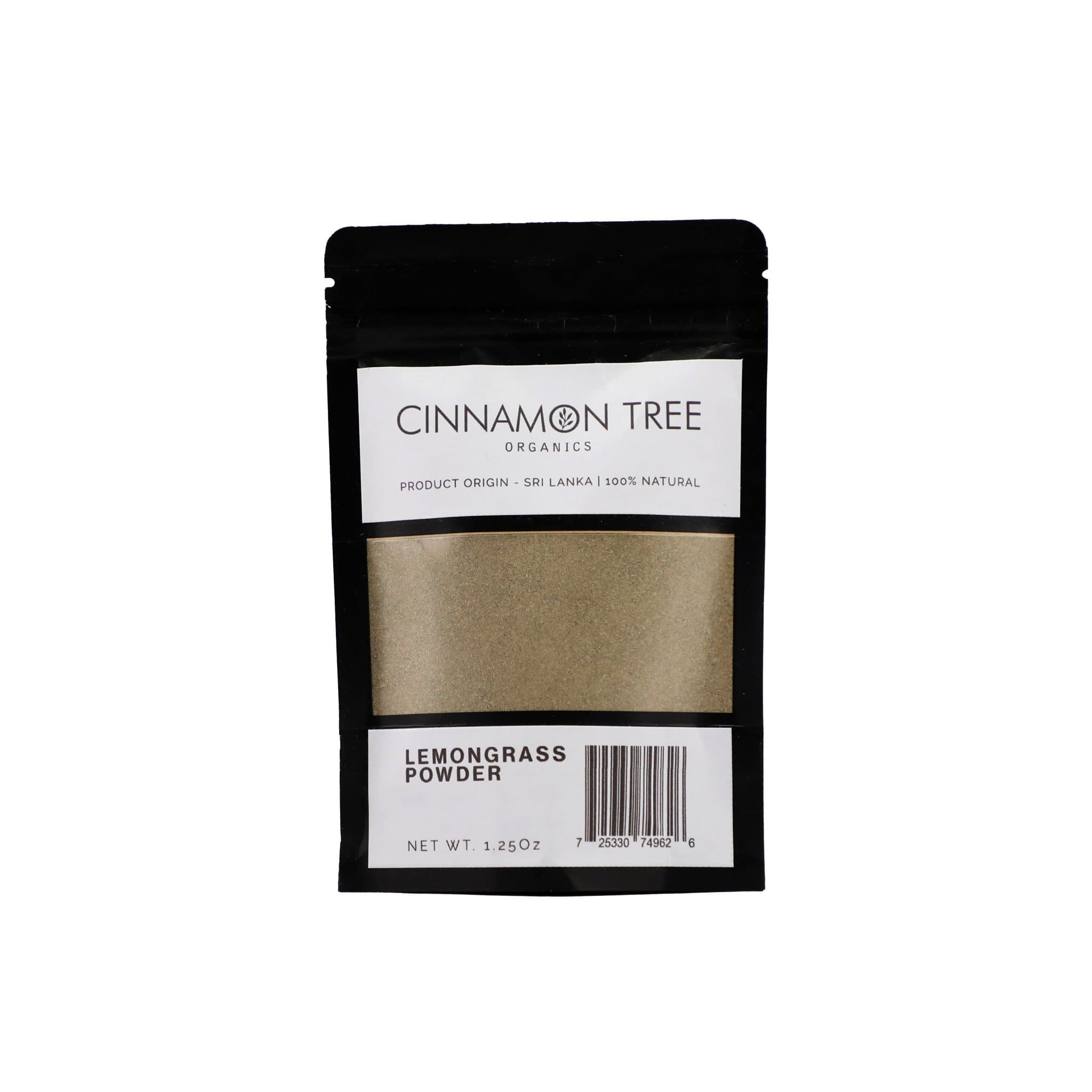 Cinnamon Tree Organics Organic lemongrass powder 1.25 Oz
