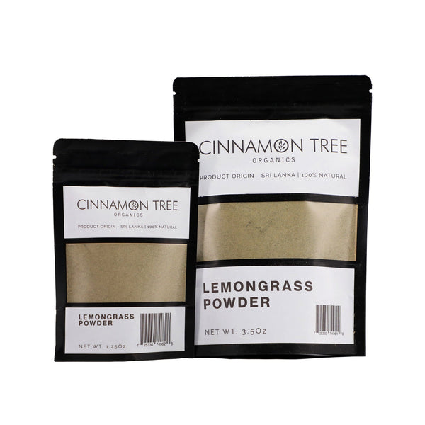 Cinnamon Tree Organics lemongrass powder packs