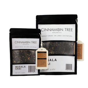 Cinnamon Tree Organics Masala Chai packets