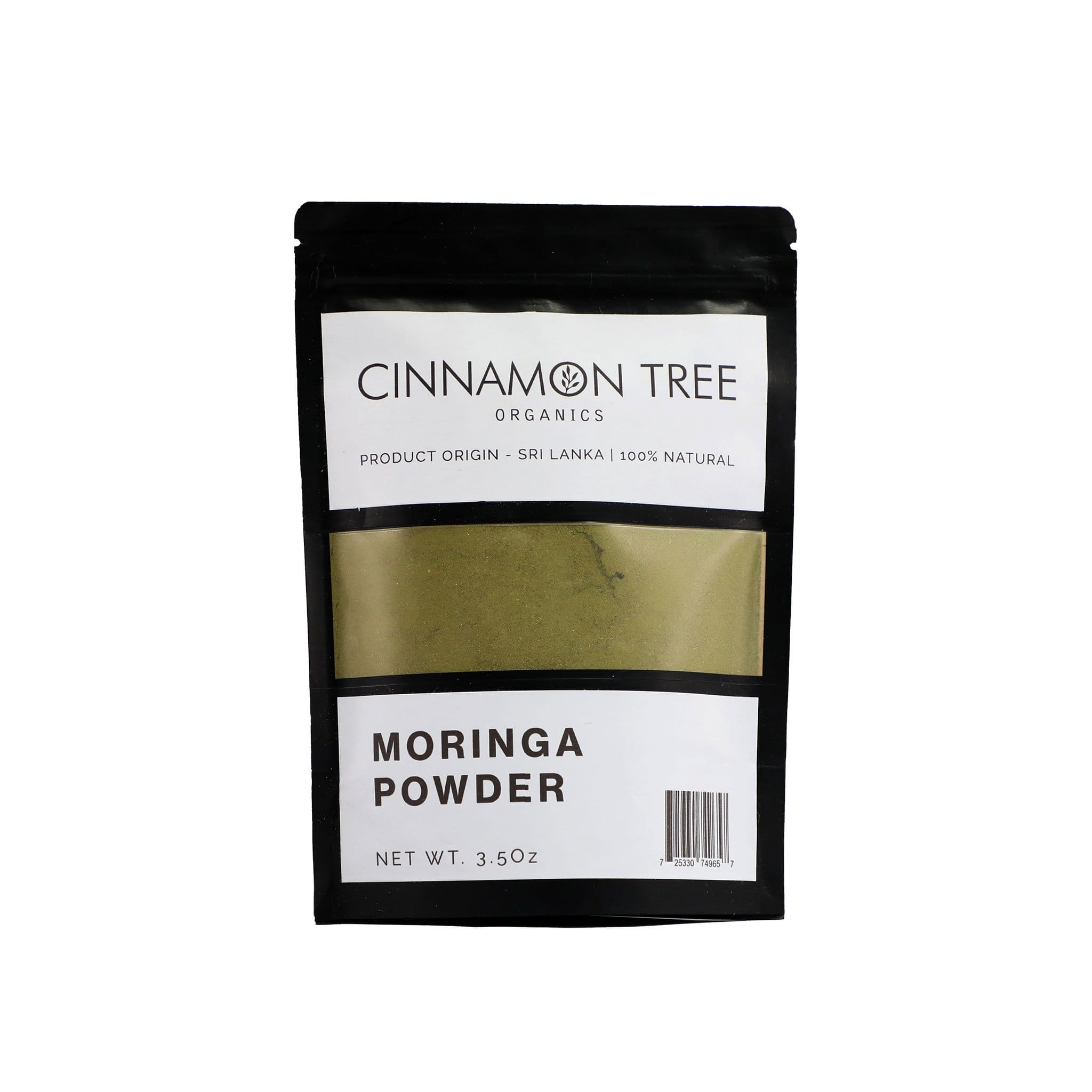 Cinnamon Tree Organics single origin moringa 3.5 Oz