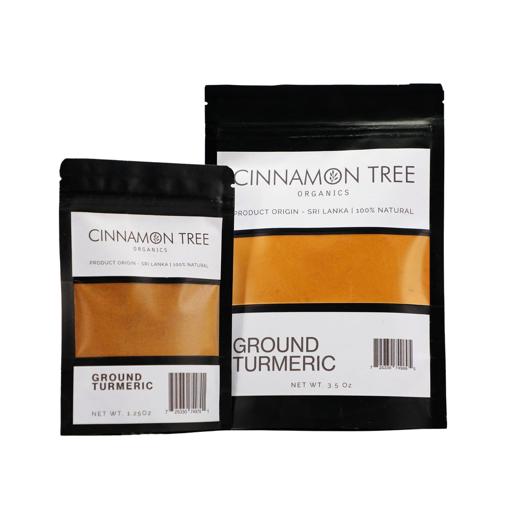 Cinnamon Tree Organics single origin organically grown turmeric from Sri Lanka