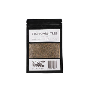 Cinnamon Tree Organics Ground Black Pepper 1.25oz
