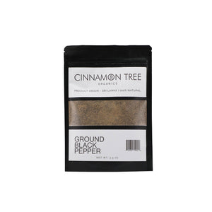 Cinnamon Tree Organics Ground Black Pepper 3.5oz