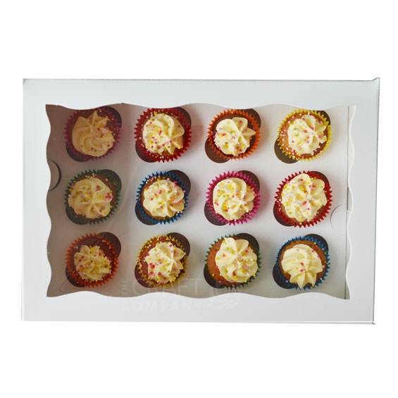 12 Hole Mini Cupcake Box