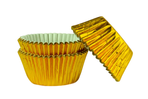 Doric Gold Muffin Cases x 45