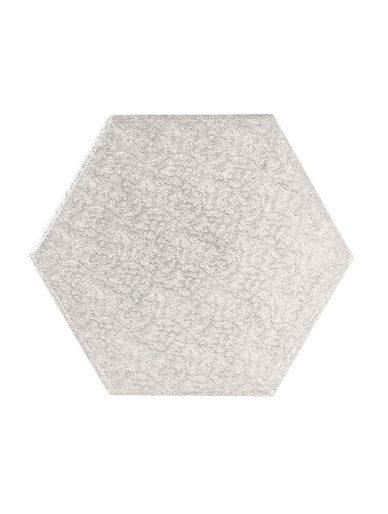 "11"" Hexagonal Cake Board"