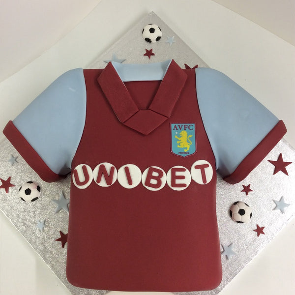 Football Shirt Theme Cake