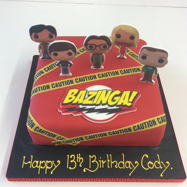 Big Bang Theory Theme Cake