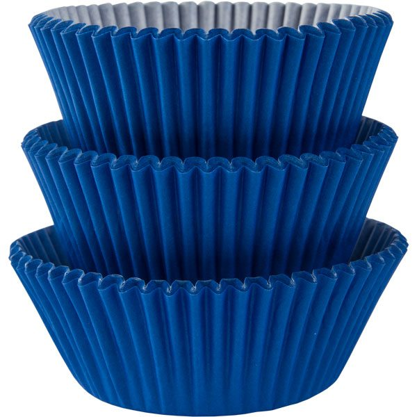 Vogue Muffin Cases - Royal Blue