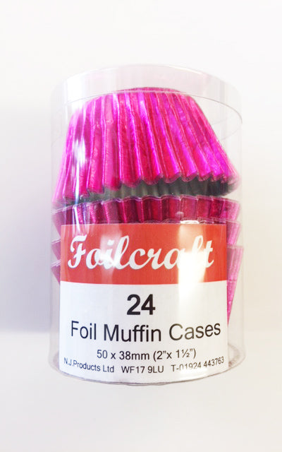 Foilcraft Muffin Cases - Pink
