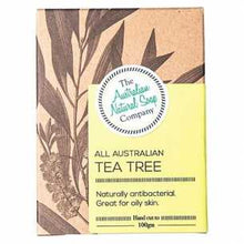 Load image into Gallery viewer, The Australian Natural Soap Co - Tea Tree Bar 100g
