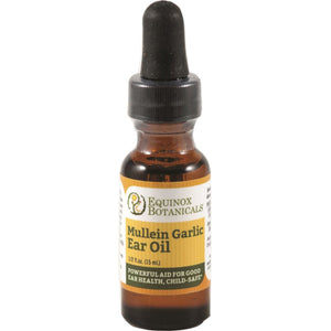 Mullein Garlic Ear oil 15ml - Equinox Botanicals
