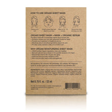 Load image into Gallery viewer, Orgaid Anti-Aging & Moisturising Organic Sheet Mask