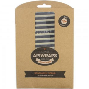 Apiwraps - Large Beeswax Sandwich Wrap